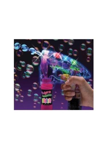 RoseRoi Pilli Işıklı Otomatik Oyuncak Su Köpük Baloncuk Tabancası Renkli